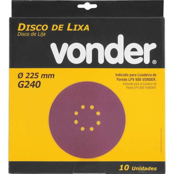 Disco-de-Lixa-Vonder-com-225mm-Grao-240-Para-A-Lixadeira-Lpv-600-E-Lpv-1000