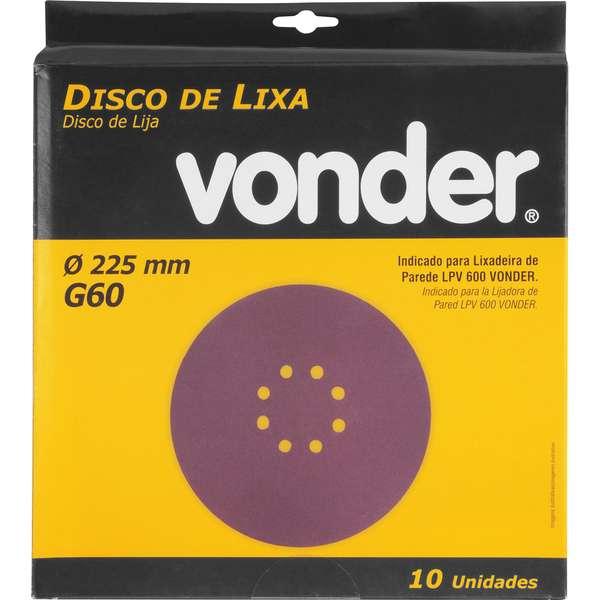 Disco-de-Lixa-Vonder-com-225mm-Grao-60-Para-A-Lixadeira-Lpv-600-E-Lpv-1000