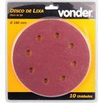 Disco-de-Lixa-Vonder-com-180mm-Grao-100-Para-A-Lixadeira-Lpv-750
