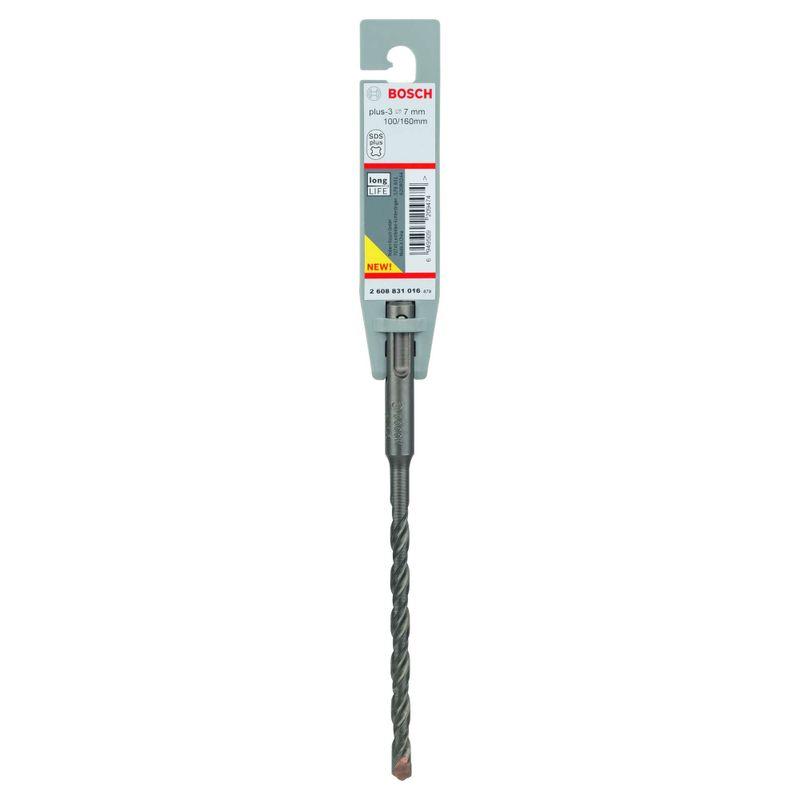 Broca-Bosch-SDS-plus-3-para-concreto-Ø7-x-100-x-160mm