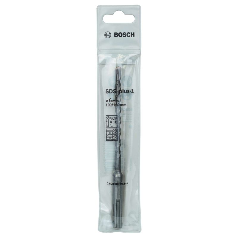 Broca-Bosch-SDS-Plus-1-para-concretos-Ø-6-x-100-x-160mm