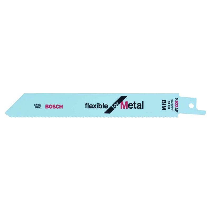 Lamina-de-serra-sabre-Bosch-S922AF-Flexible-for-Metal---2-unidades