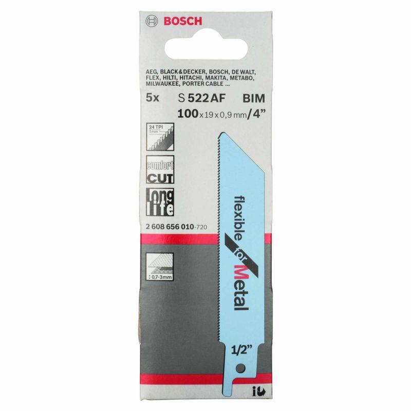 Lamina-de-serra-sabre-Bosch-S522AF-Flexible-for-Metal---5-unidades