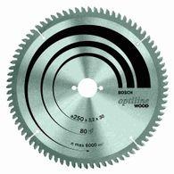 Disco de serra circular Bosch Optiline Wood ø35 furo de 30mm espessura de 1,8mm 60 dentes