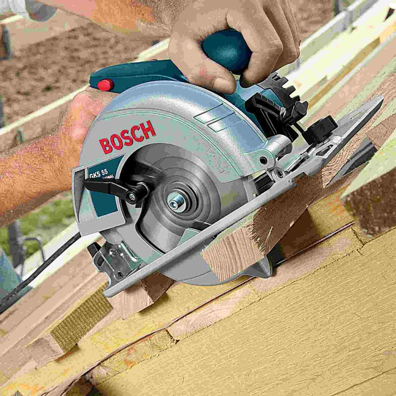 Disco-de-serra-circular-Bosch-Optiline-Wood-ø235-furo-de-25mm-espessura-de-18mm-24-dentes