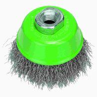 Escova de aço Bosch copo para esmerilhadeira arame ondulado inoxidável 75mm