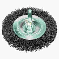 Escova de aço Bosch circular para furadeira arame ondulado 75mm