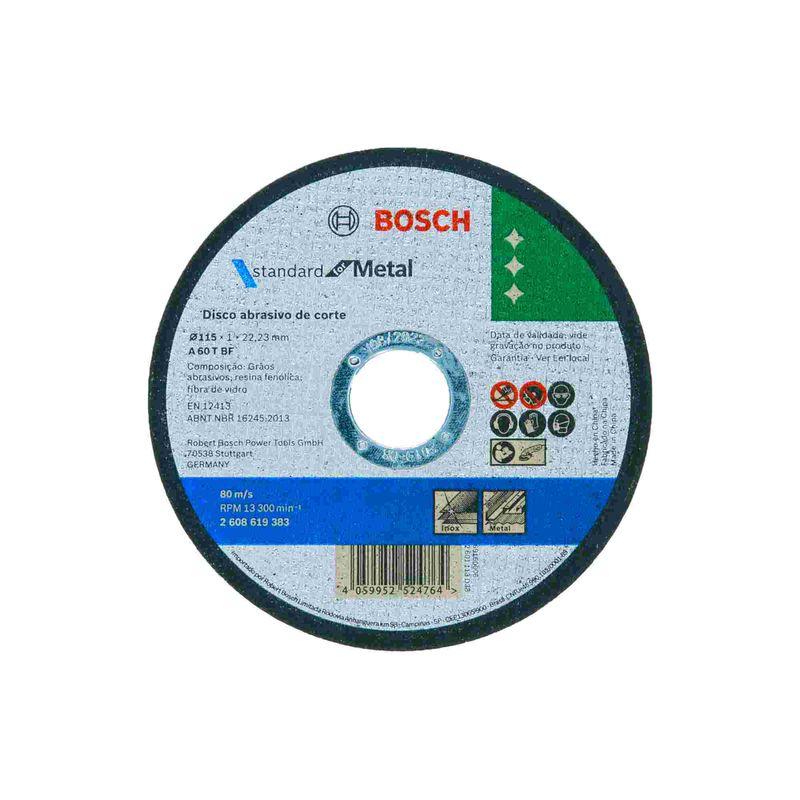 Disco-de-Corte-Bosch-Standard-for-Metal-115x10mm-Centro-Reto