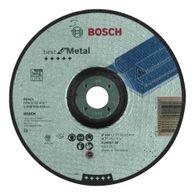 Disco de Desbaste Bosch Best for Metal 180x7,0mm Centro Deprimido