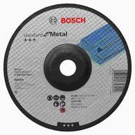 Disco de Desbaste Bosch Standard for Metal 180x6,0mm Centro Deprimido