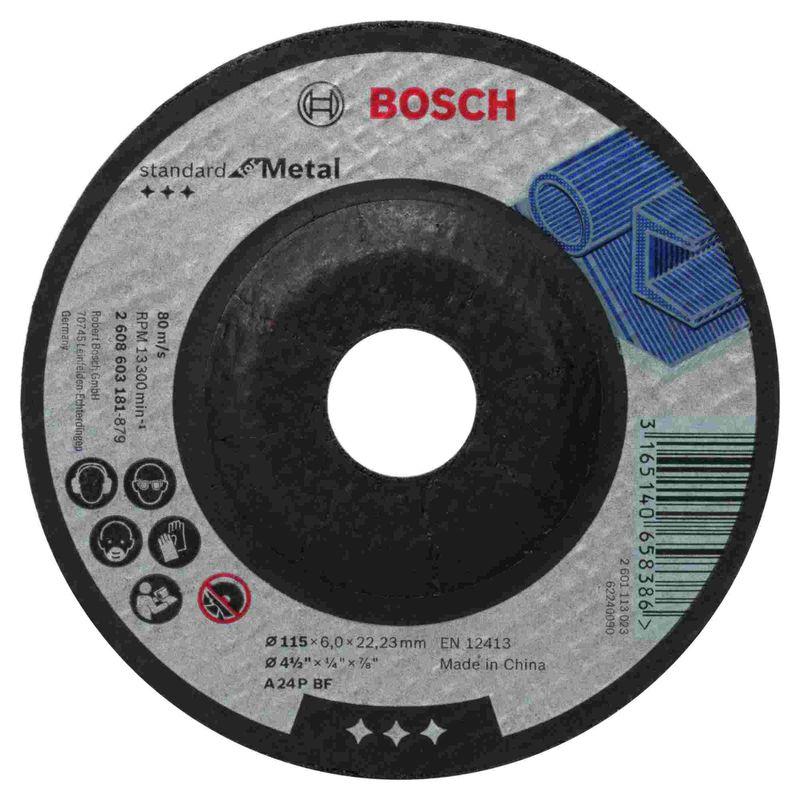 Disco-de-Desbaste-Bosch-Standard-for-Metal-115x60mm-Centro-Deprimido