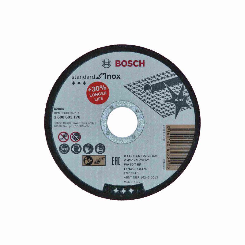 Disco-de-Corte-Bosch-Standard-for-Inox-115x16mm-Centro-Reto