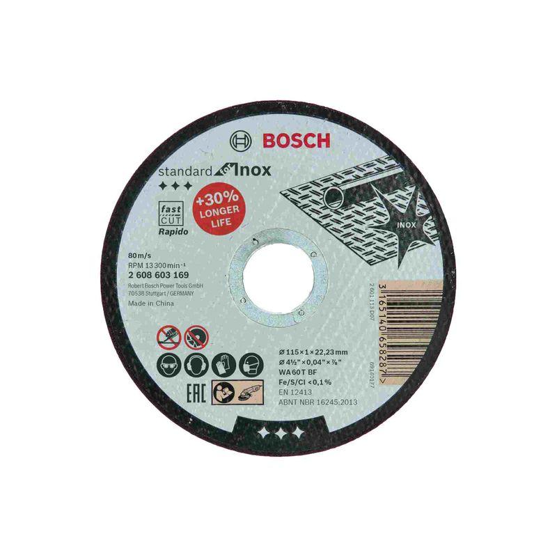 Disco-de-Corte-Bosch-Standard-for-Inox-115x10mm-Centro-Reto