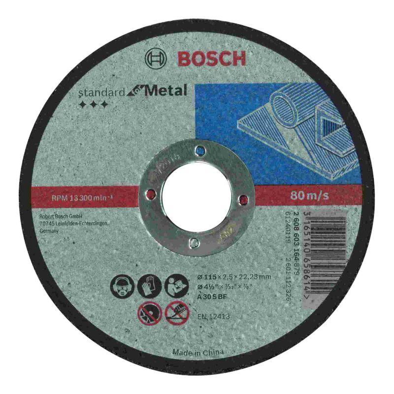 Disco-de-Corte-Bosch-Standard-for-Metal-115x25mm-Centro-Reto