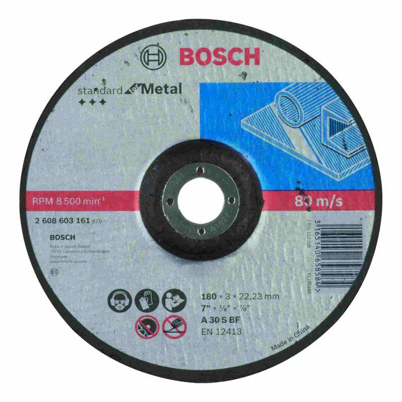 Disco-de-Corte-Bosch-Standard-for-Metal-180x30mm-Centro-Deprimido