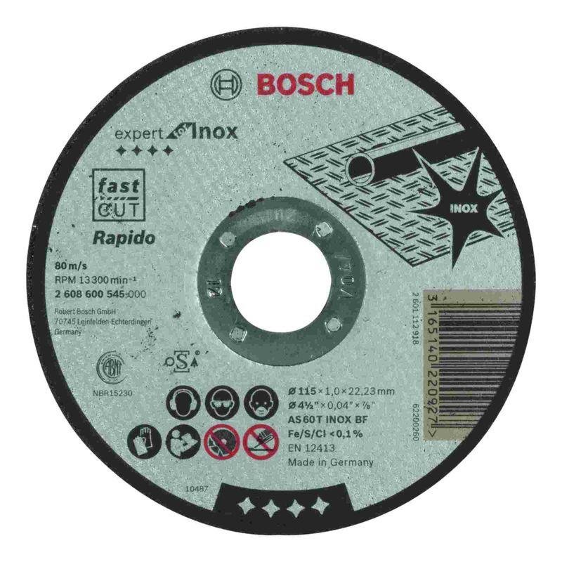 Disco-de-Corte-Bosch-Expert-for-Inox-115x10mm-Centro-Reto