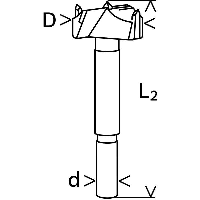 Broca-para-Madeira-Bosch---ponta-de-Metal-Duro-para-dobradica-360x900x100mm