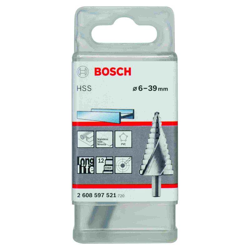 Broca-Escalonada-para-Metal-Bosch-Aco-Rapido-HSS-60-390mm---12-diametros