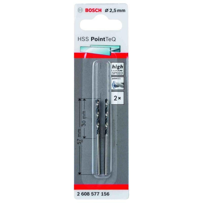 Broca-para-Metal-Bosch-Aco-Rapido-HSS-PointTeQ-25mm---2-unidades