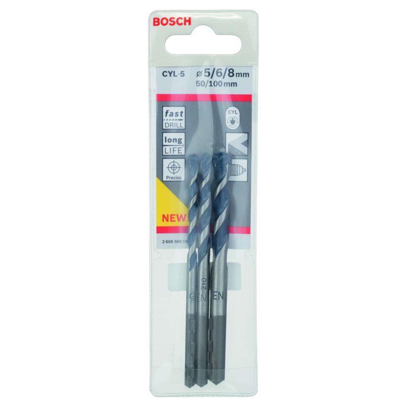 Broca-Bosch-CYL-5-para-concreto-e-pedra-Cilindrico-Ø5-6-8mm-jogo---3-brocas