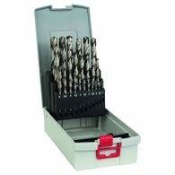 Broca para Metal Bosch Aço Rápido HSS-G ProBox 1,0-13,0mm - 25 unidades
