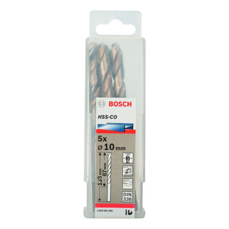 Broca-para-Metal-Bosch-Aco-Rapido---Liga-de-Cobalto-HSS-Co-100mm---5-unidades