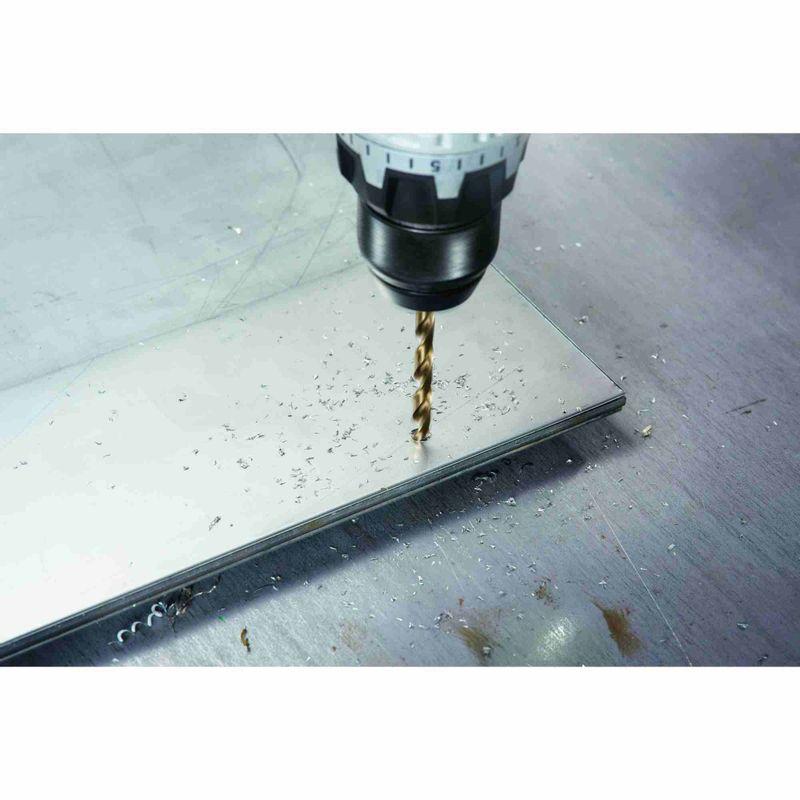 Broca-para-Metal-Bosch-Aco-Rapido---Liga-de-Cobalto-HSS-Co-85mm---5-unidades