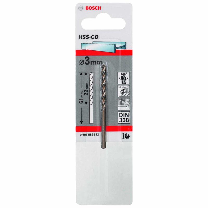 Broca-para-Metal-Bosch-Aco-Rapido---Liga-de-Cobalto-HSS-Co-30mm