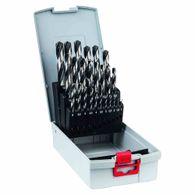 Broca para Metal Bosch Aço Rápido HSS-PointTeQ ProBox 1,0-13,0mm - 25 unidades