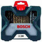 Kit-de-Pontas-e-Brocas-em-Titanio-Bosch-X-Line-para-parafusar-e-perfurar---30-unidades