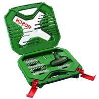 Kit de Pontas e Brocas Bosch X-Line para parafusar e perfurar - 54 unidades