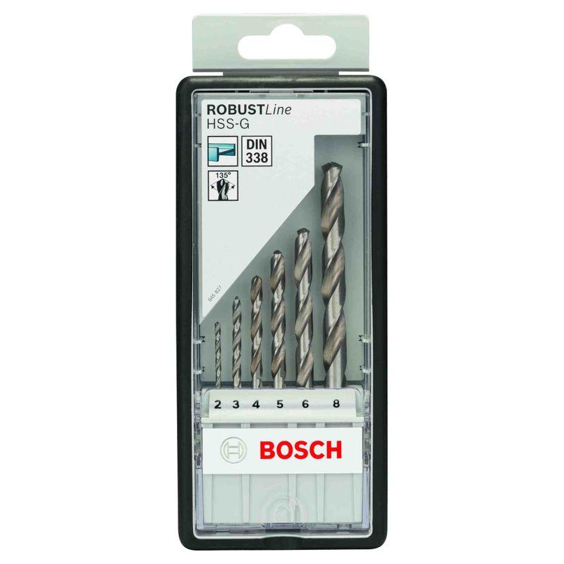 Broca-para-Metal-Bosch-Aco-Rapido-HSS-G-Robust-Line-20-80mm---6-unidades