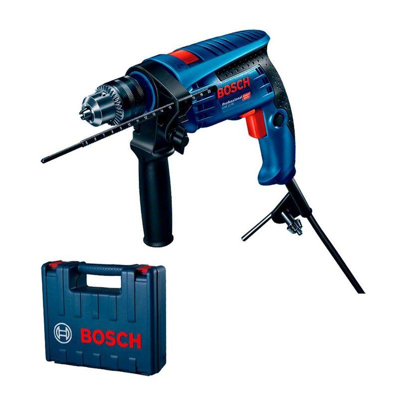 Furadeira-de-Impacto-Bosch-GSB-13-RE-650W---5-Brocas---Maleta-110V