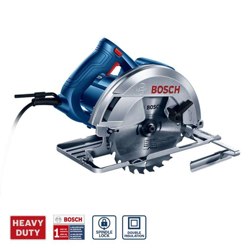 Serra-Circular-Bosch-GKS-150-1500W---1-Disco-de-serra-Guia-paralelo-e-Bolsa-de-transporte-127V