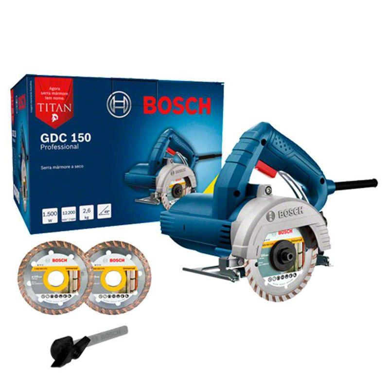 Serra-Marmore-a-seco-Bosch-GDC-150-Titan-1500W---2-Discos-110V