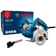 Serra Mármore Bosch a seco GDC 150 Titan 1500W