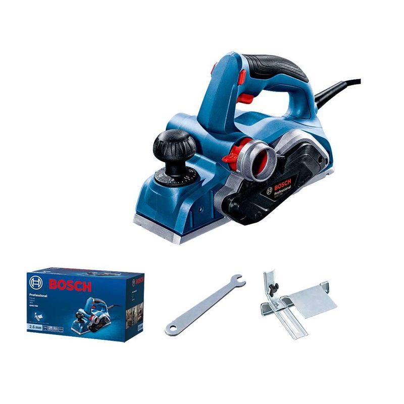 Plaina-Bosch-GHO-700-com-700W---2-Laminas-e-Saco-coletor-de-po-110V