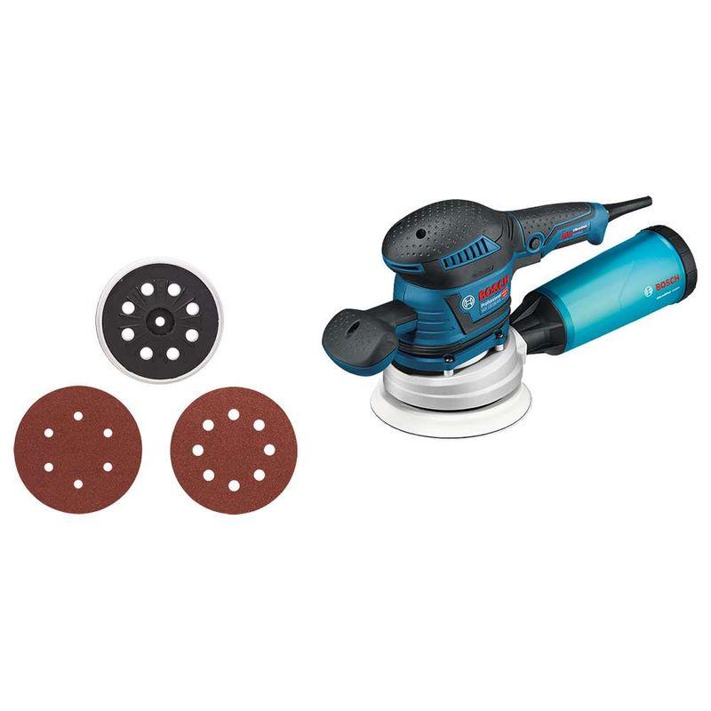 Lixadeira-Roto-Orbital-Bosch-GEX-125-150-AVE-350W---1-Adaptador-para-aspirador-de-po-110V
