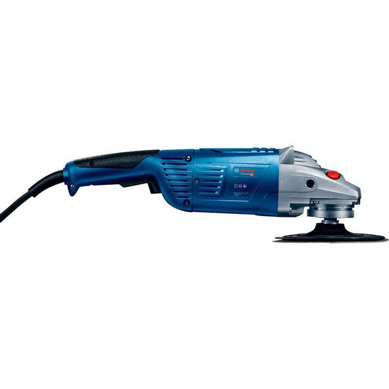 Lixadeira-Angular-Bosch-GWS-22-U-2200W---Chave-aperto---Prato-apoio-110V