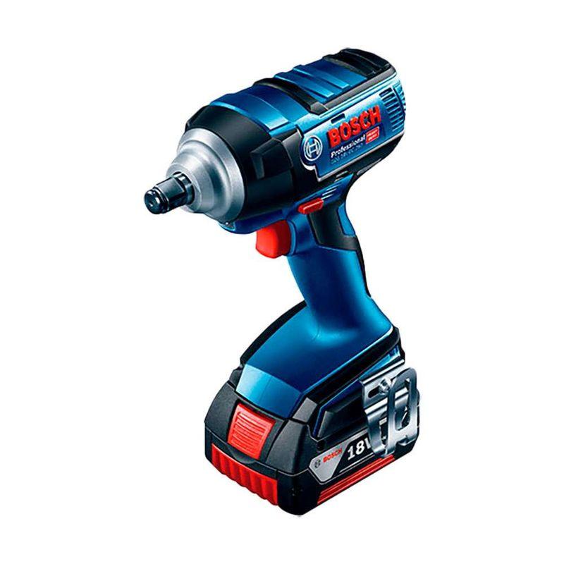 Chave-de-Impacto-a-Bateria-1-2--Bosch-GDS-18-V-EC-250-250Nm-18V---2-Baterias-40Ah---1-Carregador-Bivolt---Maleta