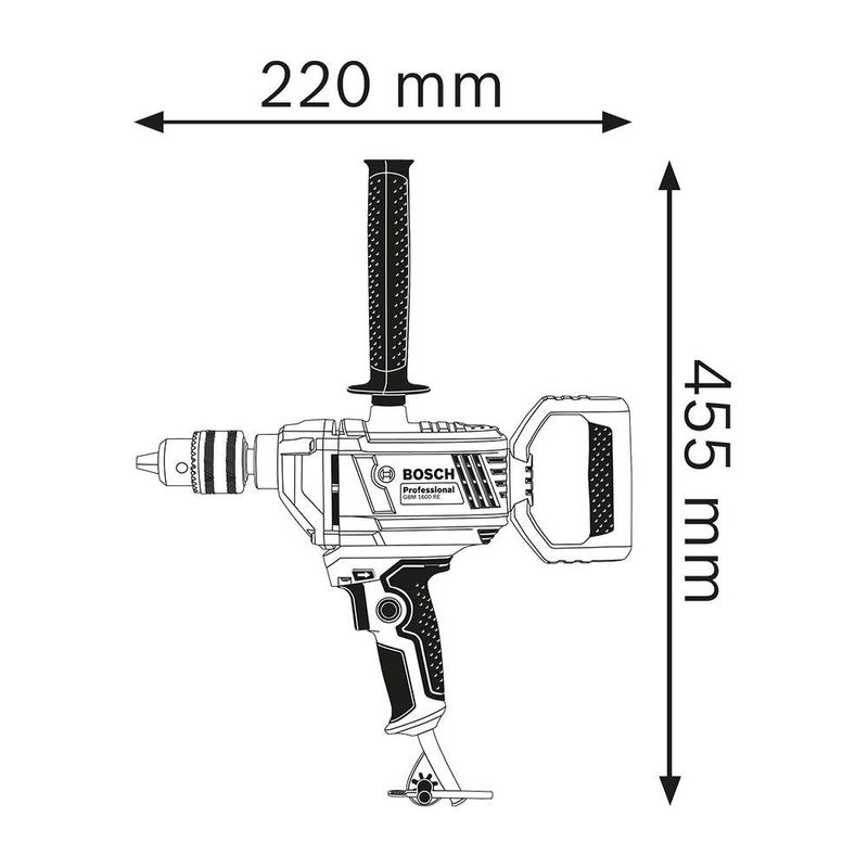 Furadeira-Sem-Impacto-Bosch-GBM-1600-RE-850W-110V