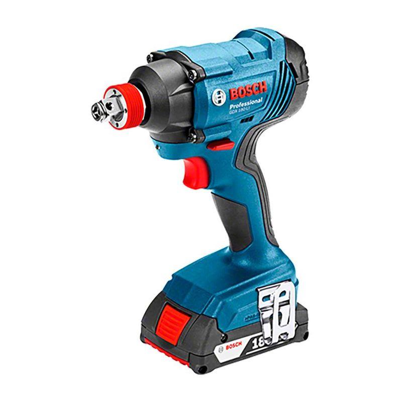 Chave-de-Impacto-a-Bateria-de-1-4-e-1-2--Bosch-GDX-180-LI-18V-180Nm---2-Baterias-15Ah-1-Carregador-Bivolt---Maleta