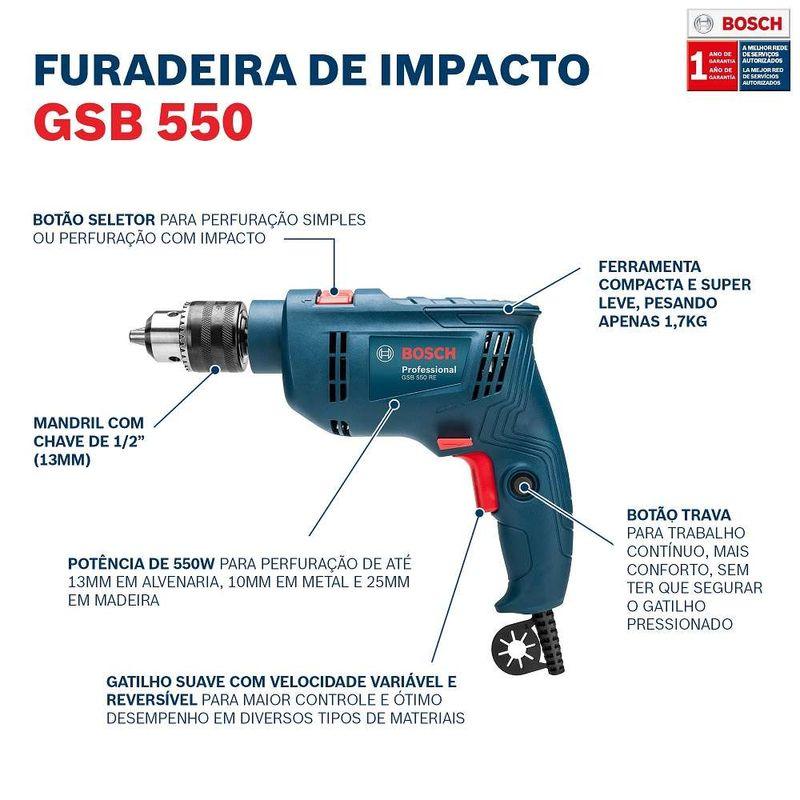 Furadeira-de-Impacto-Bosch-GSB-550-RE-550W-110V