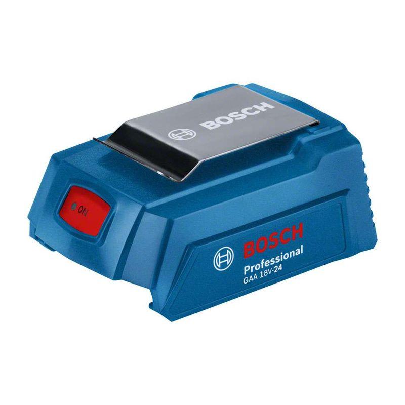 Adaptador-de-Carregador-Portatil-USB-Bosch-GAA-18V-24--Power-Bank--18V-sem-Bateria-e-sem-Carregador
