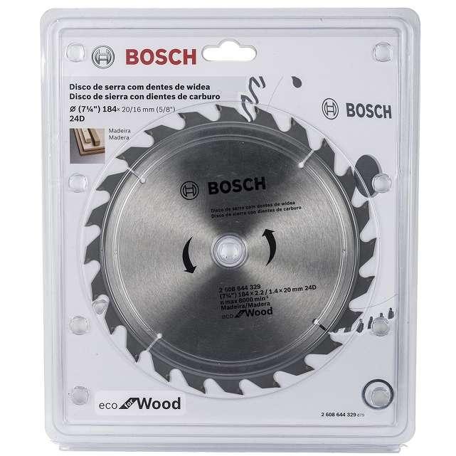 Disco-de-serra-Circular-Bosch-Ecoline-ø184-furo-de-20mm-espessura-de-14mm-40-dentes