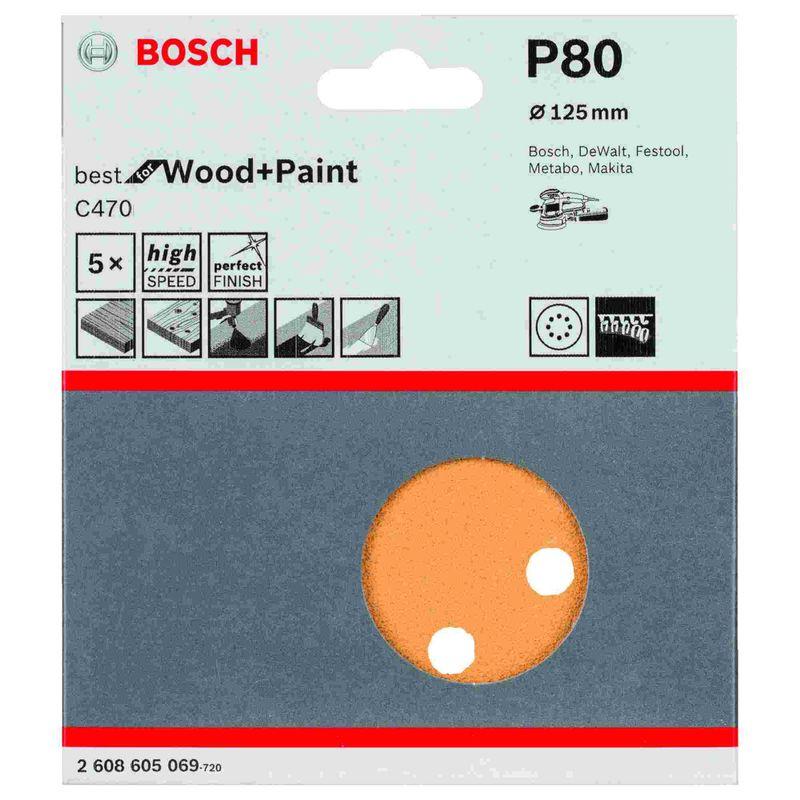 Disco-de-Lixa-Bosch-C470-Best-for-Wood-Paint-125mm-G80---5-unidades