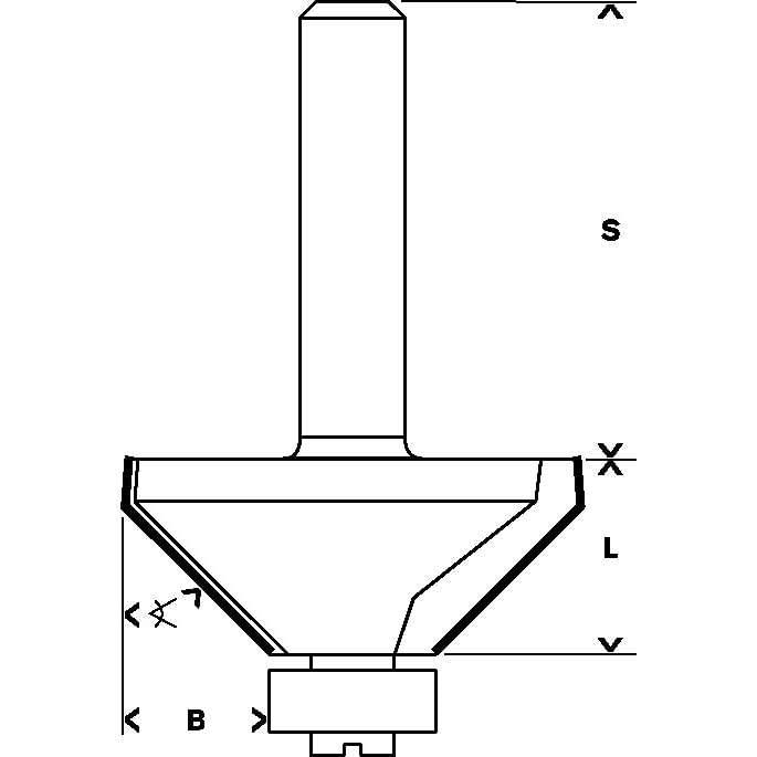Fresa-de-chanfrar-alinhar-Bosch-1-4--D1-349mm-B-13mm-L-146mm-G-56mm-45°