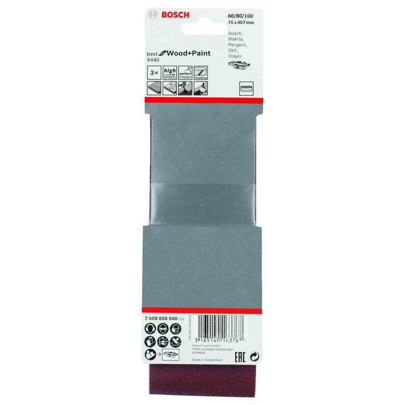 Jogo-de-Cintas-de-Lixa-Bosch-X440-Best-Wood-Paint-75x457mm-G60-80-100---3-unidades