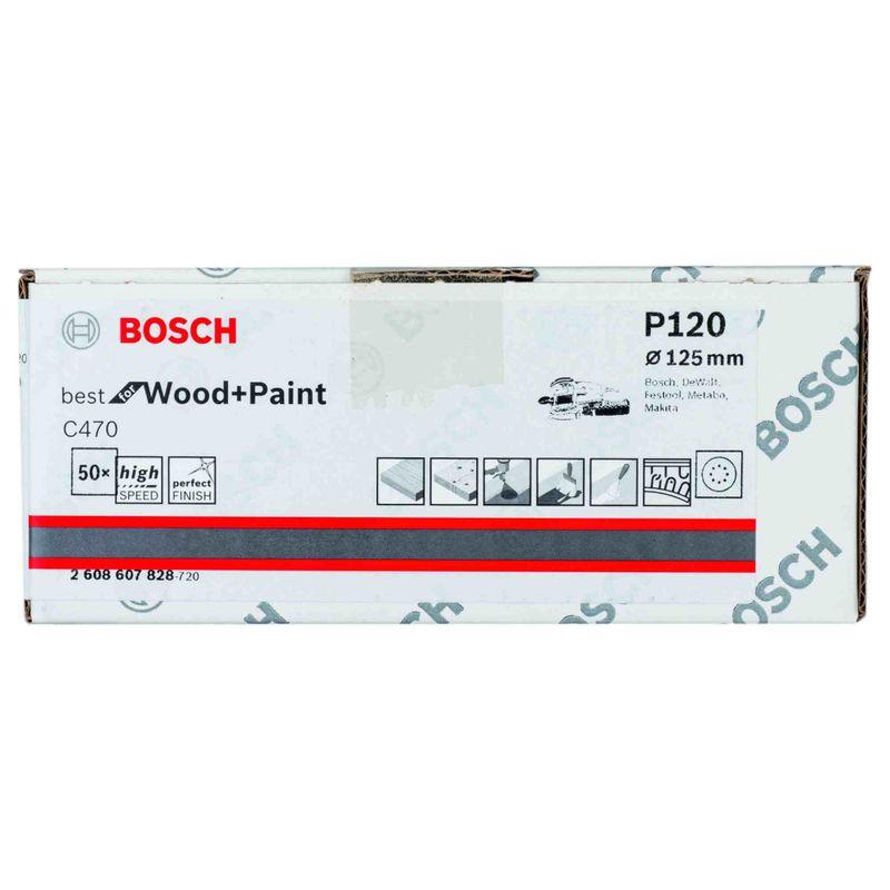 Disco-de-Lixa-Bosch-C470-Best-for-Wood-Paint-125mm-G120---50-unidades