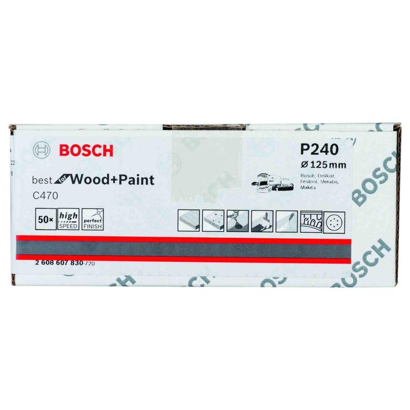Disco-de-Lixa-Bosch-C470-Best-for-Wood-Paint-125mm-G240---50-unidades